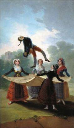 O manequim de palha - Francisco Goya, 1792