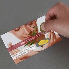 FLYER ENCRE À GRATTER Invitez vos clients à jouer avec l'encre à gratter !