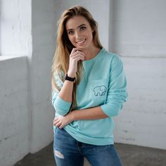 Classic Fit Neon Mint Pineapple Tee