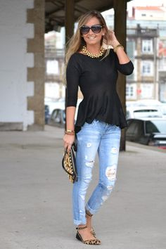 i adore those shoes/shirt/jewelry.