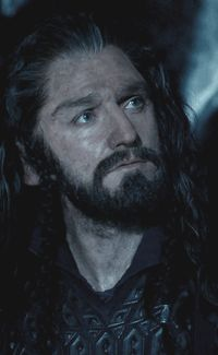 """Thorin Oakenshield - King under the Mountain """"Loyalty, Honor, a willing heart, I can ask no more than that."""""""