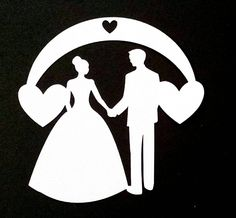 Bride and Groom Cardstock Cutouts, Die Cuts, Card Embellishments, Scrapbooking Shapes, Paper Arts, Crafts, Party Favor, Wedding Gift Tags by PineCreekCrafts on Etsy Wedding Drawing, Wedding Gift Tags, Paper Art, Party Favors, Embellishments, Card Stock, Groom, Scrapbooking, Shapes