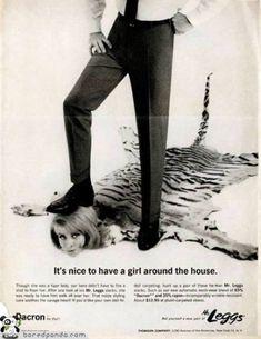 """""""Está bien tener una chica rondando por la casa""""."""