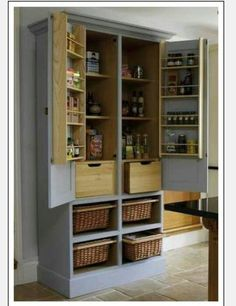 Great way to convert an unused armoire