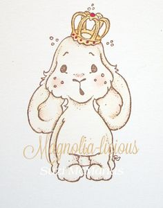 #449 Bunny Prince | 2013 Lost and Found by Collection | Stamps | Magnolia Stamps