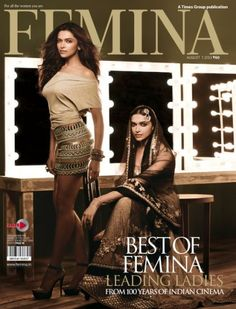 Deepika Padukone, Femina Magazine [India] (7 August 2013)