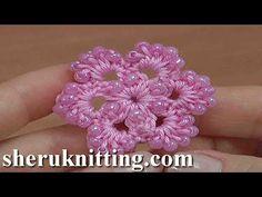 Crochet 6-Petal Flower Tutorial