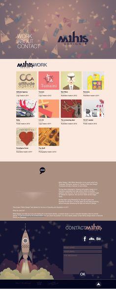 Mihis Design  http://mihisdesign.com  #parallax #scrolling