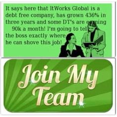 Ready to tell that 9 to 5 goodbye?!?! Make your annual salary in a month!! We are doing just that with It Works! Let's chat