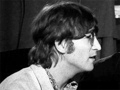 """""""John Lennon interviewed in 1966 """" John Lennon Interview, The Beatles Members, John Lemon, Strawberry Fields Forever, Crew Cuts, Smile Because, Paul Mccartney, Favorite Person, Musical"""