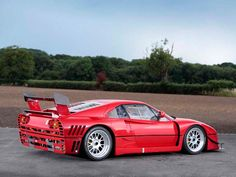 To me the Ferrari 288 GTO Evoluzione goes against the sleek elegant styling thats commonly associated with Ferrari but thats also why I like the car. Too bad it never got to race.