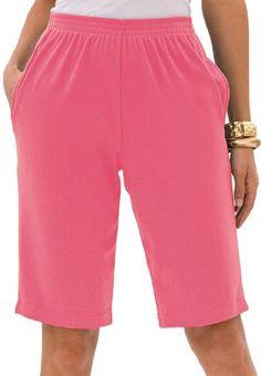 Roamans Plus Size Bermuda Shorts $14.99