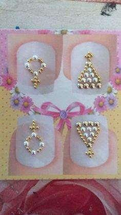 3d Nail Designs, 3d Nails, Nail Art, Drop Earrings, Jewelry, Nail Jewels, Art Nails, Bridal Nails, Enamels