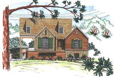 1-1114 :: Period Style Homes Plan Sales