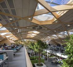 WWF-UK Living Planet Centre and Headquarters Opens #indoor #landscape