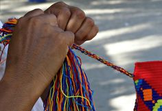 The art of Weaving #Wayuu #mochila