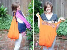 Turn Your T-Shirts Into Tote Bags | Brit + Co.