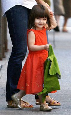 Suri Cruise | Celebrity Baby | Daughter of Tom Cruise and Katie Holmes