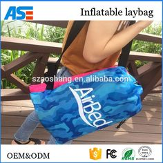Summer hot sales new inflatable laybag lay bag air lounger with custom logo print Air Sofa Bed, Air Chair, Air Lounger, Bed Quotes, Sleeping Bag, Custom Logos, Lazy, Entertaining