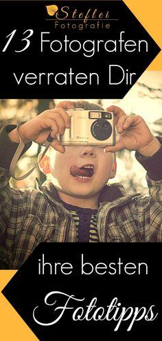 Die Auswertung einer Blogparade. Du erfährst einfache  und kreative Fototipps von 13 Fotografen. Es gibt Tipps aus der Welt der Fotografie für Anfänger und Fortgeschrittene. Fotothemen wie Blende, Kameraeinstellungen, Bokeh, Reisen, Landschaft und Food-photography werden besprochen.