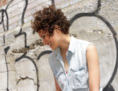 Best Haircut for Curly Hair by Elle Powers.  photo by sandy poirier  #curls #curly hair #bangs