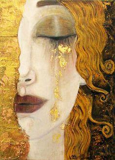 Gustav Klimt. Lagrimas Negras.