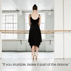 "9 Things To Say To Yourself When You Fall Off The Bandwagon : ""If you stumble, make it part of the dance."" http://www.prevention.com/fitness/fitness-tips/best-motivational-quotes-fitness-and-weight-loss?s=10&?adbid=10153005762791469&adbpl=fb&adbpr=87494991468&cid=socFit_20150129_39582957"