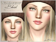 No Makeup Blush by Pralinesims - Sims 3 Downloads CC Caboodle