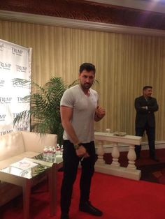 Maks at promo event for Denim Vodka in NJ