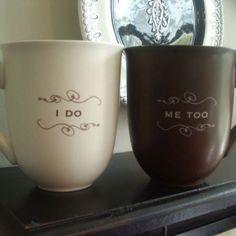 Tazas de café para parejas!