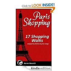 """Fashion Fois Gras says it best: """".... ever visited a city that you've heard is a shopping mecca and not known where the heck to start your purchasing adventure? Well fear not, finally a brilliant woman has found the solution to this disastrous problem! Karen Henrich has developed an app + guide ...."""""""