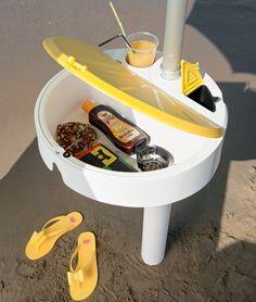 Tavolini Per Ombrelloni Da Spiaggia.14 Fantastiche Immagini Su Lettini E Soluzioni Di Arredo By Crema