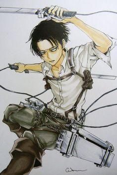 Levi Ackerman, Naruto Anime, Manga Anime, Anime Art, Anime Character Drawing, Manga Drawing, Captain Levi, Attack On Titan Levi, New Poster