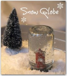 DIY kid craft snow globe - Christmas Activities for Kids - Here Come the Girls Diy Crafts For Kids, Crafts To Sell, Kids Diy, 4 Kids, Christmas Activities For Kids, Advent Activities, Christmas Snow Globes, Diy And Crafts Sewing, Craft Wedding