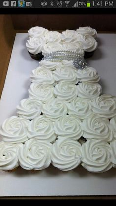 Bridal Shower Cake ~ Love this, and what a great idea!