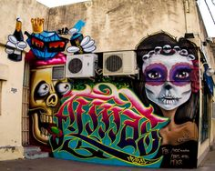 Global Street Art • Fresh wall by FKR from #Argentina. ...