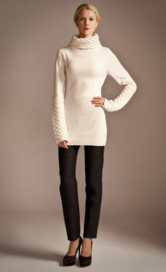 The Honeycomb Tunic is back for another fall/winter season at Temperley London