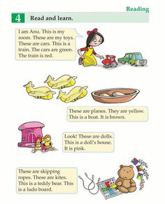 English Book Grade 1 My Toys Basic English Grammar Book, English Learning Spoken, Teaching English Grammar, English Writing Skills, English Reading, English Language Learning, English Phrases, English Book, Learn English Words