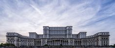 #architecturebluebuildingcitycityscapecloudsepiceuropemarbleskysummerwhite #benjaminhuettinger (January 16 2016 at 11:30AM) The Palace of the Parliament in the center of Bucharest Romania. It's a structure of epic size - holding multiple world records for being the biggest & heaviest & most expensive building in its category.