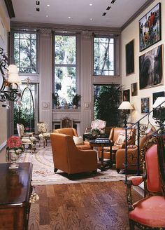 Traditional Living Room - Find more amazing designs on Zillow Digs!   different with window over fireplace