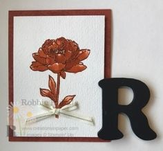 https://creationsinpaper.com/monochromatic-card/     | Stampin' Up | |All Occasion Cards | |All Occasion Cards Handmade |      Simple images can make a stunning All Occasion card.