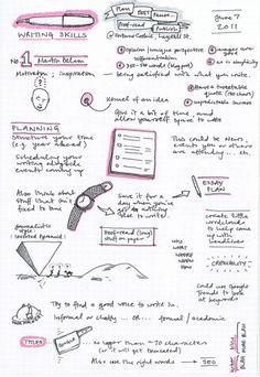 Sketchnotes - what if we let our students take notes in doodle form? I bet they would remember that info.