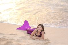 Mermaid Tail and Mono Fin for Children 10 and under