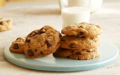 Brown Butter Chocolate Chip Cookies! These are so unbelievably good! I have had them at Tea and Coffee Parties, the slighty nutty flavor from the brown butter is a wonderful compliment to delicious tea/coffee! Or milk of course :)