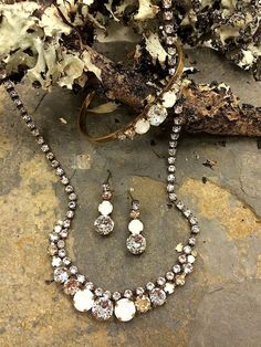 Sorrelli Riverstone Collection. Everyday sparkle, bridesmaids, gifts. Vintage boho chic jewelry. https://perfectdetails.com/Sorrelli-Riverstone.htm