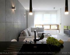Salon styl Minimalistyczny - zdjęcie od TK Architekci