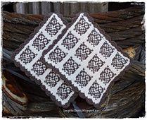 Ravelry: Fiskestim og Ugleapper pattern by Jorunn Jakobsen Pedersen Knitting Stitches, Knitting Patterns, Knitting Charts, Pot Holders, Ravelry, Textiles, Crochet, How To Make, Blog