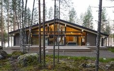 Wooden houses by lumi polar, scandinavian – Decoration ideas House In The Woods, My House, Chalet Canada, Prefab Cabins, Small House Plans, Modern House Design, Home Interior, Exterior Design, Future House