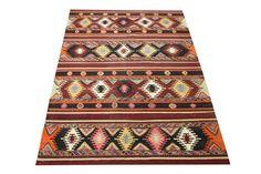 Oriental Turkish Kilim rug 90 x 59 Feet Ethnic by kilimwarehouse, $700.00