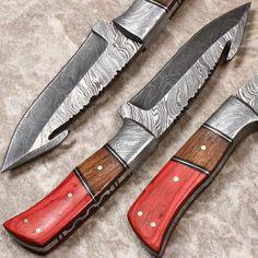 HANDMADE DAMASCUS STEEL, FIXED BLADE, FULL-TANG, HUNTING KNIFE BY BRETT MARTIN #BrettMartin